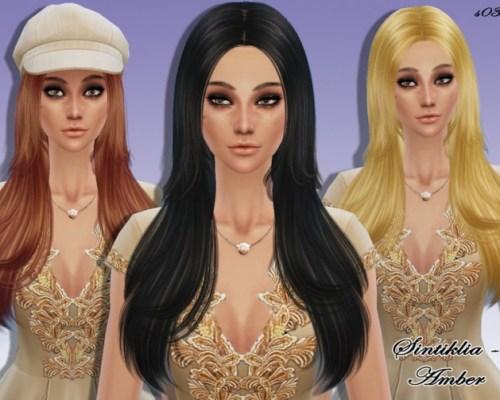Hair s03 Amber