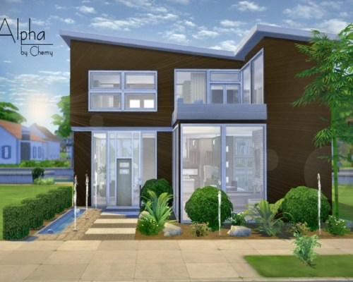 Alpha Modern house by Chemy at — select a