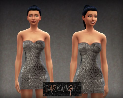 Silver Dress by DarkNighTt at The
