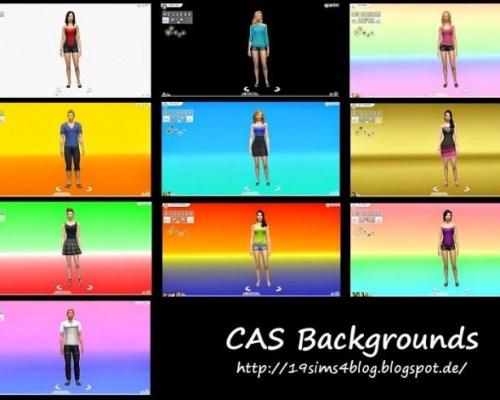 CAS Backgrounds