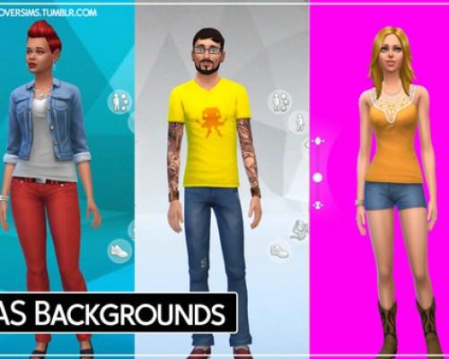 Custom CAS Backgrounds 19 flavours!