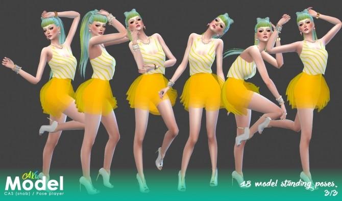 Model Poses By Akuiyumi