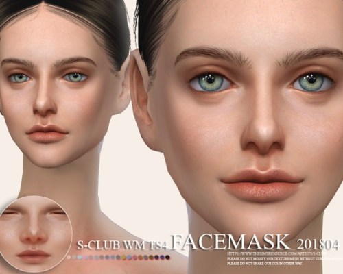 Facemask 201804 by S-Club WM