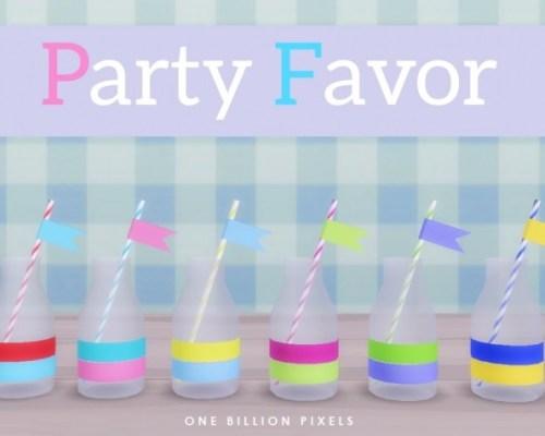 Party Favor Part 1