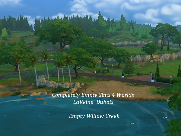 Completely Empty Sims 4 World By LaReineDubois