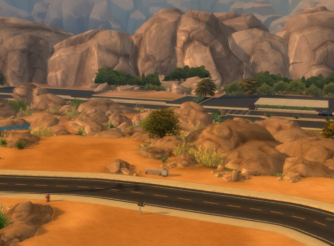 Empty Props Oasis Springs By Plasticbox
