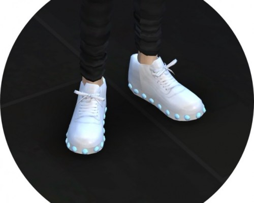 Male v1 light emission sneakers