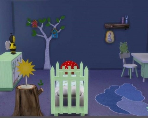 Nature room for kids by Maman Gateau