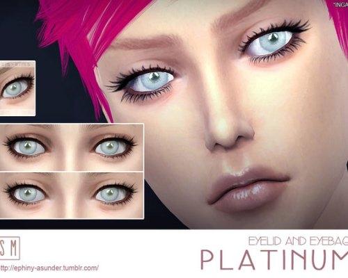 Platinum Eyelid and Eyebag by Screaming Mustard