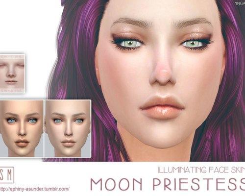 Moon Priestess Illuminating Face Skin by Screaming Mustard