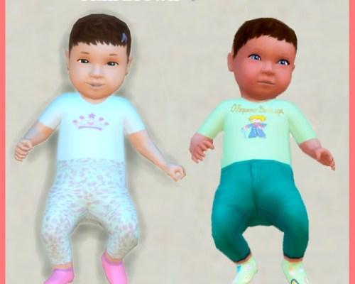 Baby Skins Set 1