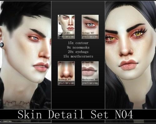 Skin Detail Kit N04 by Pralinesims