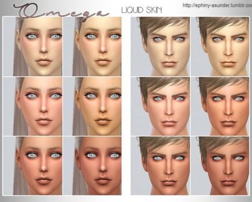 Omega Liquid Skin V1 and V2 1.0 by Myobi