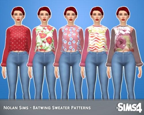 Batwing sweater pattern