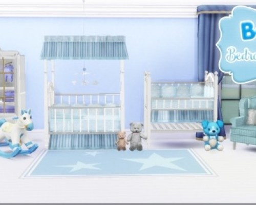 Baby bedroom clean