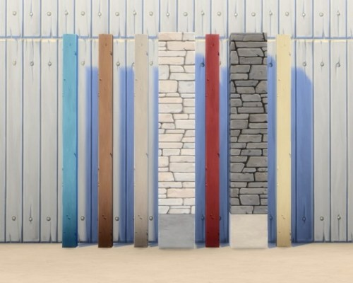 Two Decorative Columns (GT) by plasticbox