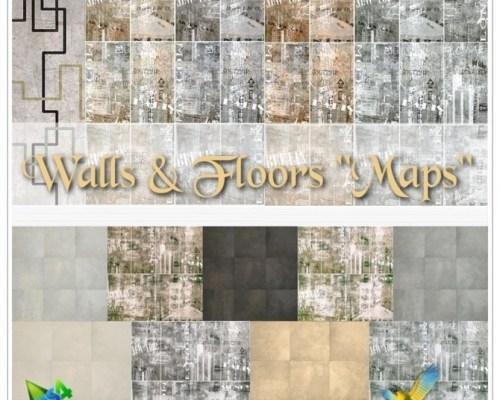 Maps Walls & Floors