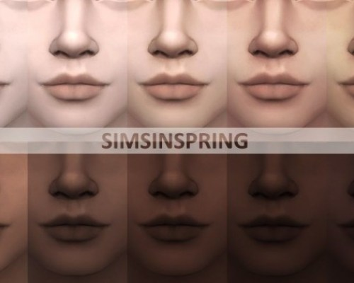 Phenomenal Cool skintones by simsinspring