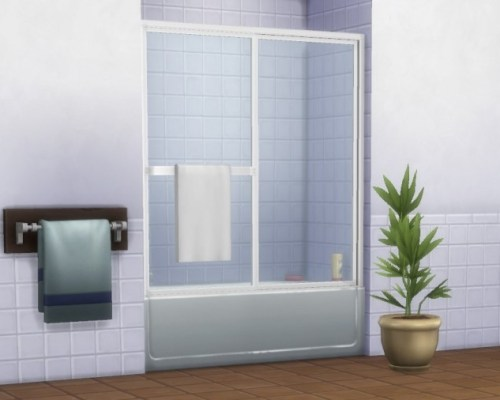 Backless Double Delight showertub by plasticbox
