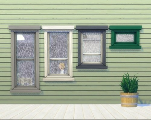 Rolled Glass Windows by plasticbox