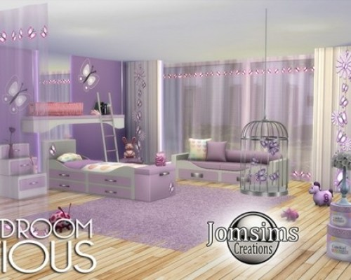 Mistious kids bedroom