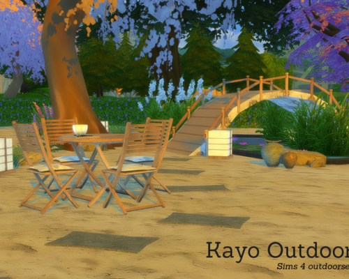 Kayo Outdoor by Angela