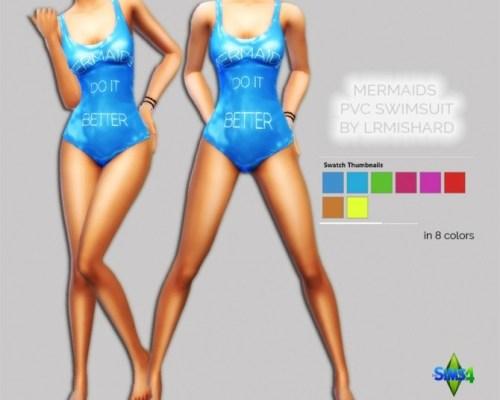 Mermaids PVC Swimsuit