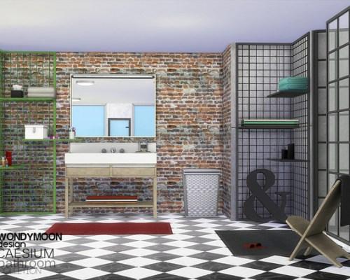 Caesium Bathroom by wondymoon