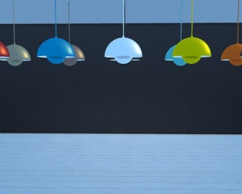 Flowerpot Pendant Light VP1