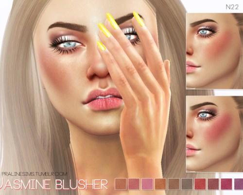 Jasmine Blusher N23 by Pralinesims