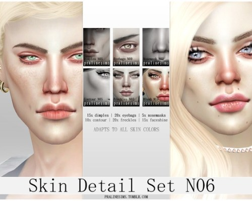 Skin Detail Kit N06 by Pralinesims