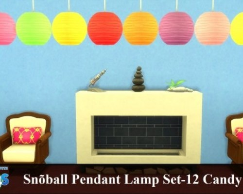 Snoball Pendant Lamp by wendy35pearly