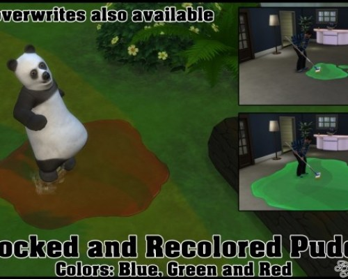 Unlocked and Recolored Puddles by Bakie