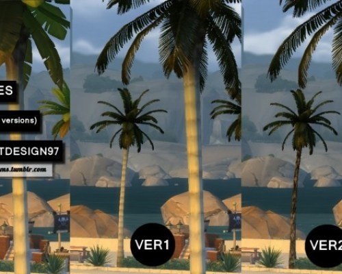Palm Trees Override 2 versions