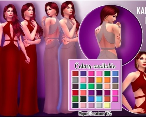 Karlie Dress Recolors (COLORFUL)