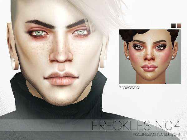Freckles N04 By Pralinesims
