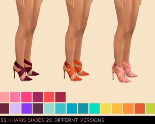 Kharis Shoes by midnightskysims