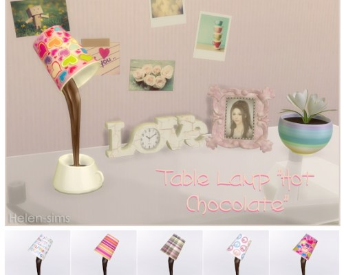 Hot Chocolate Table Lamp