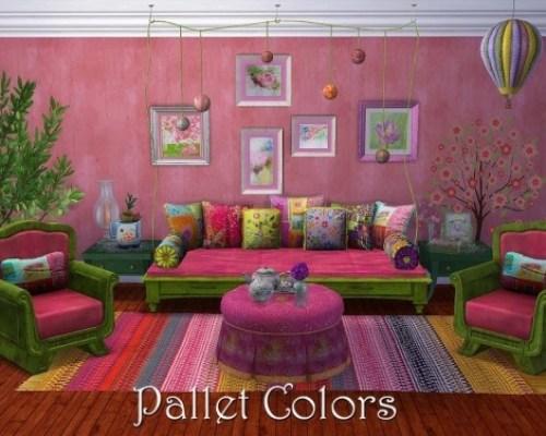 PALLET COLORS set