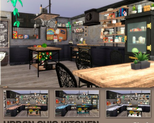 Urban Chic Kitchen by Mary Jimenez