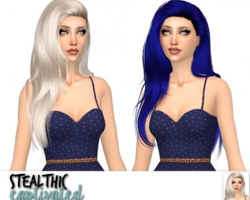 Stealthic Captivated, Prisma & Vapor hair edit