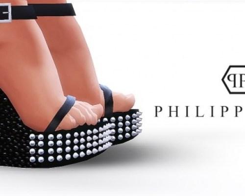 Spiked Platform Sandals by MrAntonieddu