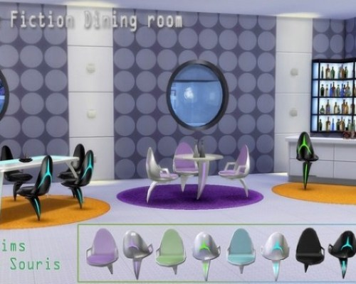 Science Fiction diningroom by Souris