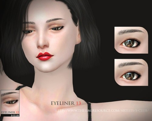Eyeliner 13 by S-Club WM
