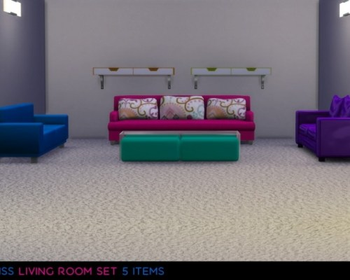 Livingroom Set by midnightskysims