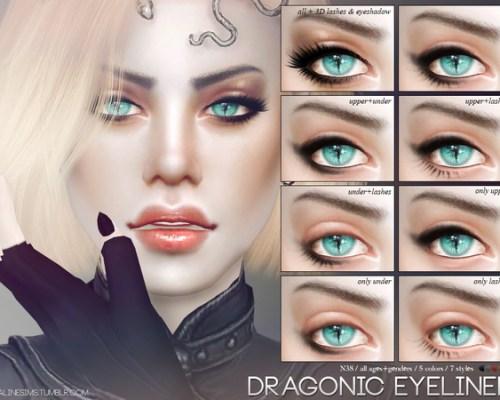 Dragonic Eyeliner N38 by Pralinesims