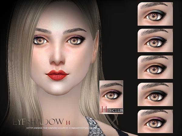 Eyeshadow 14 By S-Club WM