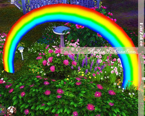 Colourful rainbow