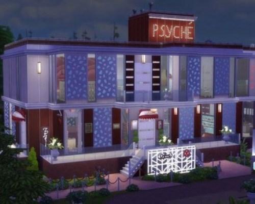 Psyché restaurant by Coco Simy