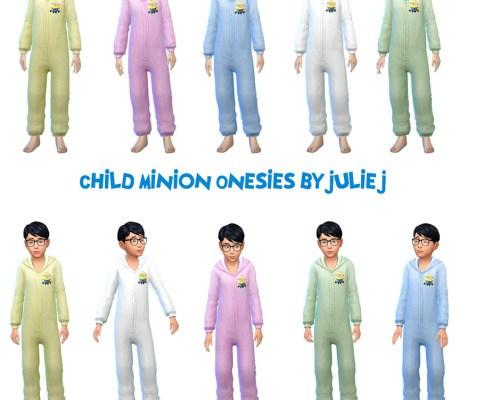 Children's Minion Onesies
